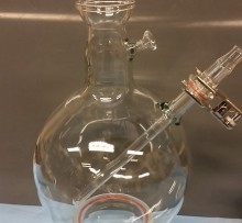 Boiling Flask With Thermowell